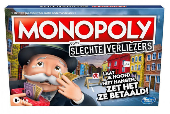 a photo of the product: Hasbro bordspel Monopoly Verliezerseditie (NL)