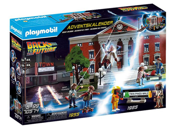 a photo of the product: PLAYMOBIL Back to the Future: adventskalender (70574) junior