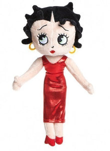 a photo of the product: Kamparo knuffel Betty Boop 24 cm rood