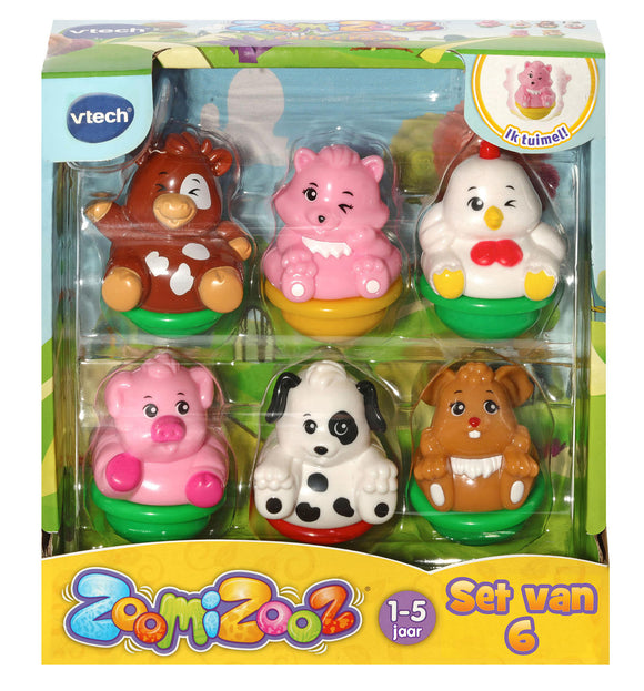 a photo of the product: Vtech ZoomiZoos Six Pack - Boerderij