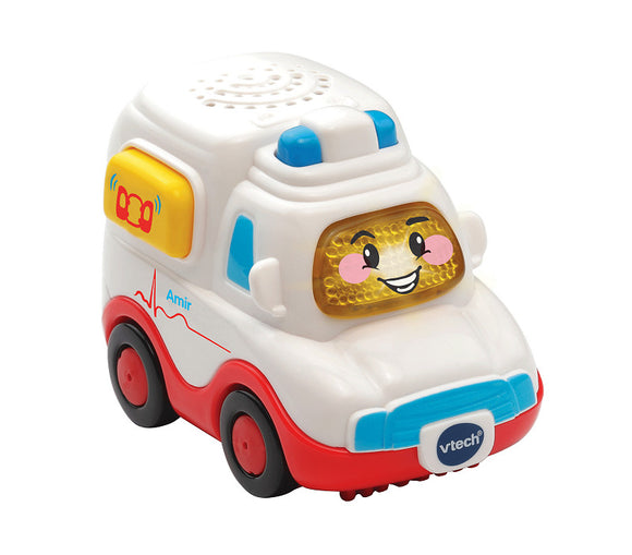 a photo of the product: Vtech Toet Toet Auto Amir Ambulance
