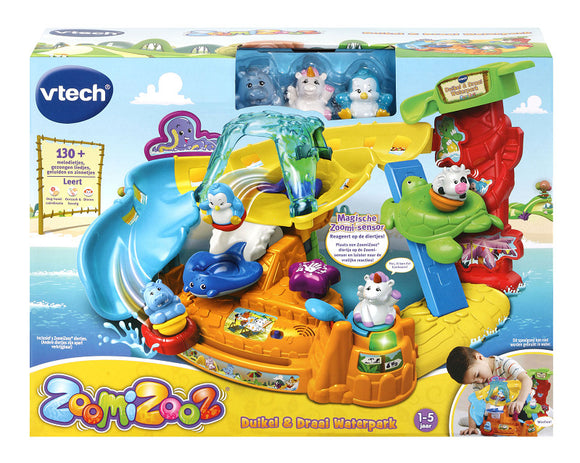 a photo of the product: Vtech ZoomiZoos Duikel  AND  Draai Waterpark