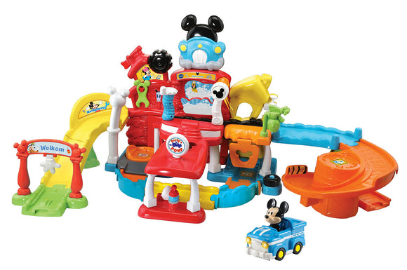 a photo of the product: Vtech Toet Toet Auto's Disney Mickey's Garage