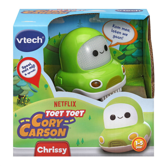 a photo of the product: Vtech Toet Toet Auto Cory Carson Chrissy Carson