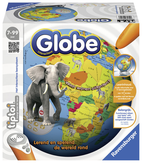 a photo of the product: TipToi Interactieve Globe