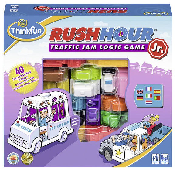 a photo of the product: ThinkFun® Games Rush Hour Junior