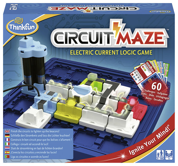 a photo of the product: ThinkFun® Games Circuit Maze