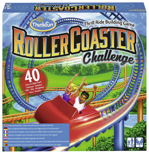 a photo of the product: ThinkFun® Games Roller Coaster Challenge