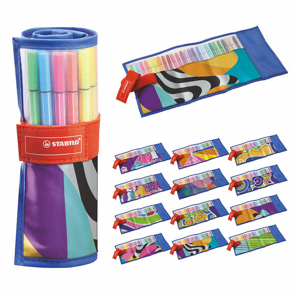a photo of the product: Stabilo Pen 68 rollerset 25 stuks