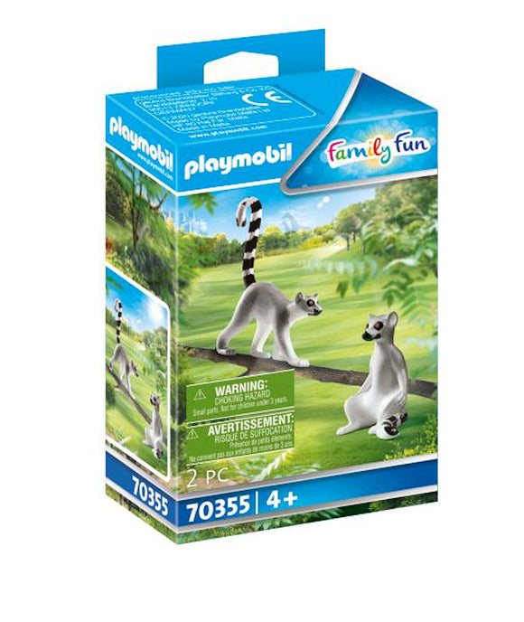 a photo of the product: Playmobil City Life Koppel ringstaartmaki's