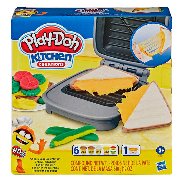 a photo of the product: Play-Doh Gesmolten Kaas Speelset