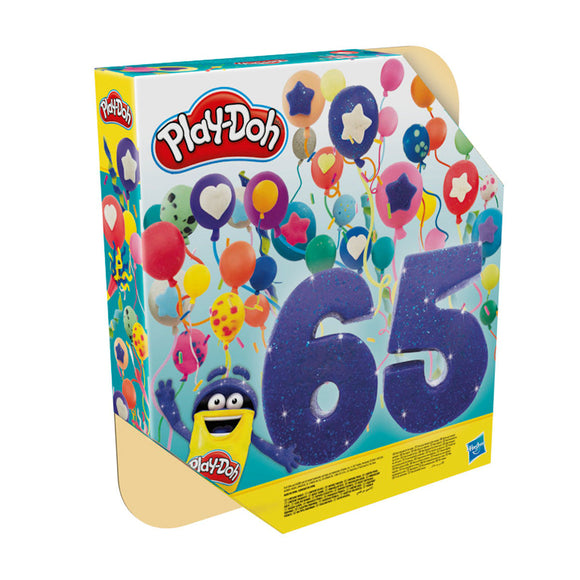 a photo of the product: Play-Doh Vier Feest 65 Pack