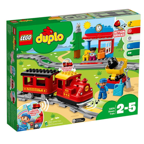 a photo of the product: DUPLO Stoomtrein