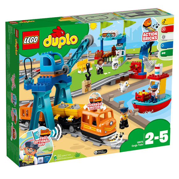a photo of the product: DUPLO Goederentrein