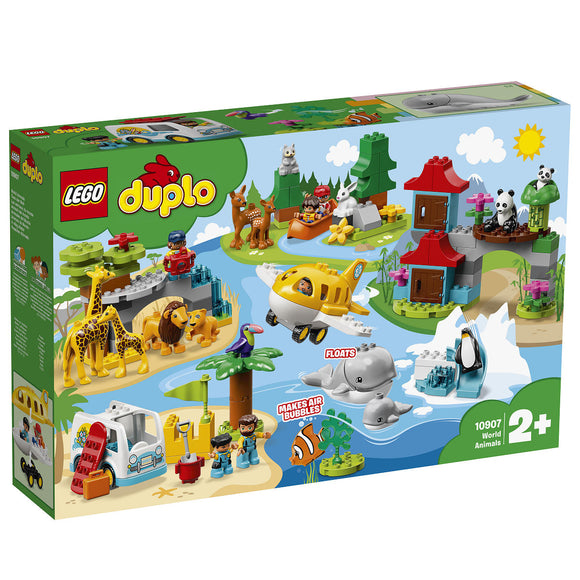 a photo of the product: DUPLO Dieren van de wereld