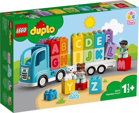 a photo of the product: DUPLO My First Alfabet vrachtwagen