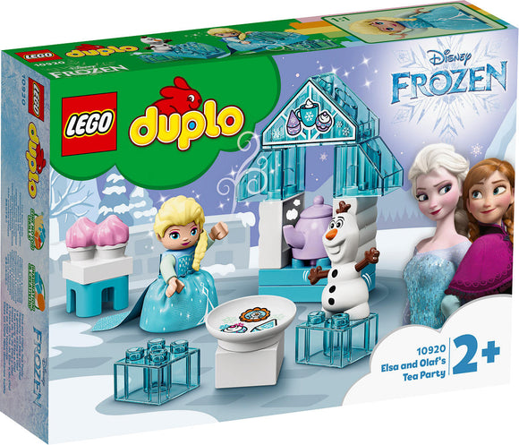 a photo of the product: DUPLO Princess Elsa's en Olaf's ijsfeest