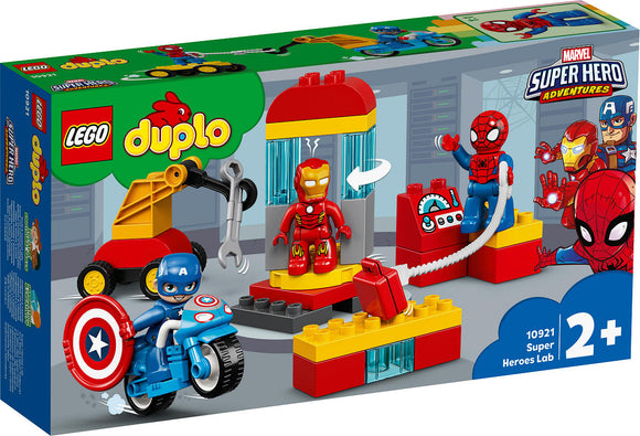a photo of the product: DUPLO Super Heroes Laboratorium van superhelden