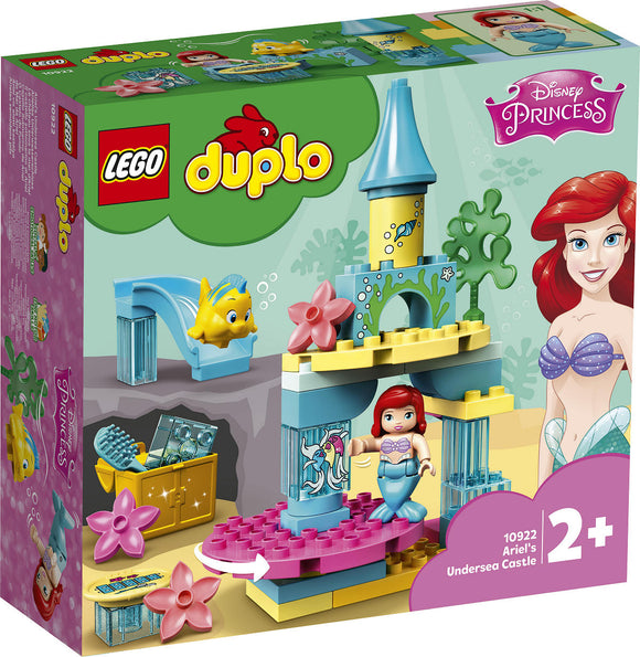 a photo of the product: DUPLO Ariels Onderzeese kasteel
