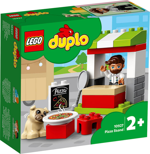 a photo of the product: DUPLO Stad Pizza-kraam