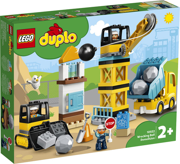 a photo of the product: DUPLO Sloopkogel Afbraakwerken