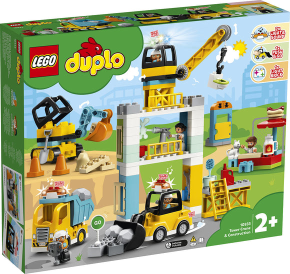 a photo of the product: DUPLO Torenkraan en Bouwterrein