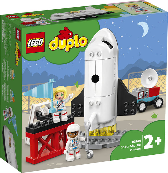 a photo of the product: DUPLO Stad Space Shuttle missie