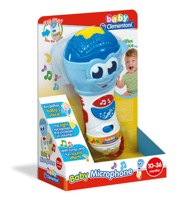 a photo of the product: Clementoni Baby Microfoon