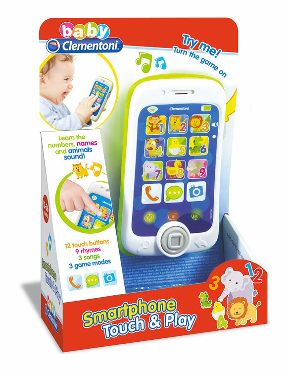 a photo of the product: Clementoni Baby Smartphone