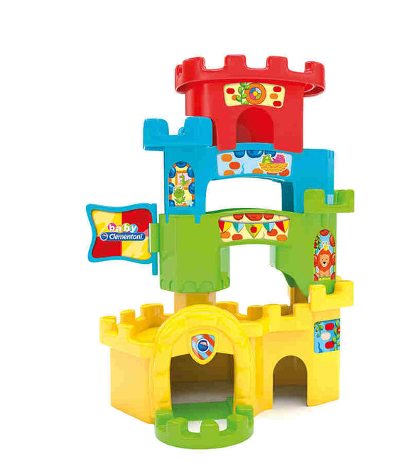 a photo of the product: Clementoni Baby Kasteel en Ballenbaan