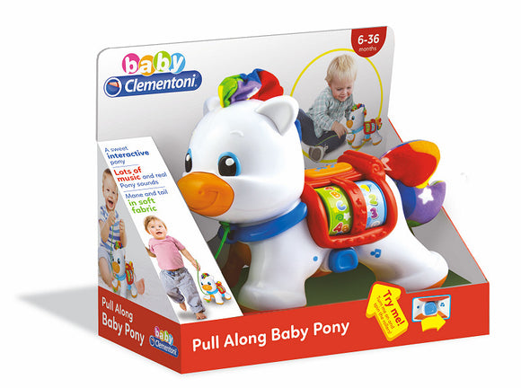 a photo of the product: Clementoni Baby Interactieve Pony