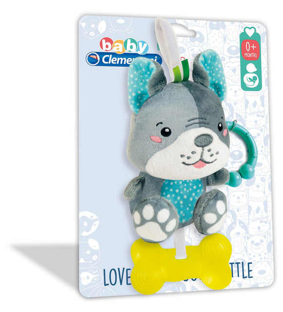 a photo of the product: Clementoni Baby Pluche Ratel Hond