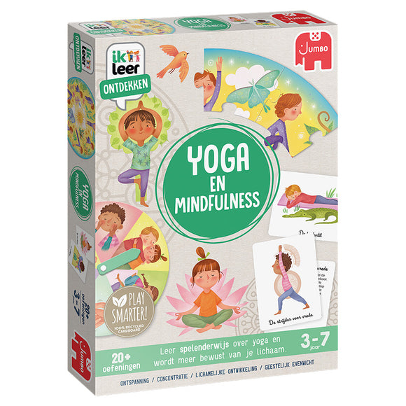 a photo of the product: Ik Leer ontdekken Yoga en Mindfulness