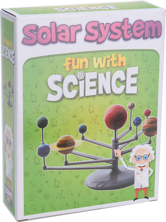 a photo of the product: Speelset science maak je eigen planetarium