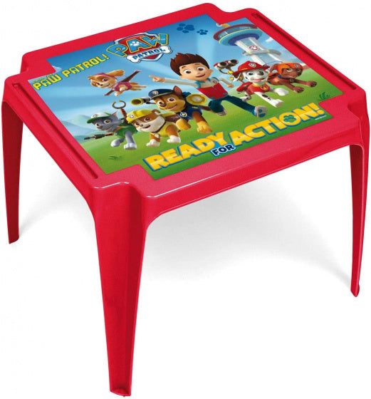 a photo of the product: Arditex kindertafel Paw Patrol 44 x 55 cm polypropyleen rood