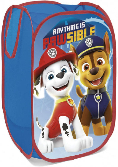 a photo of the product: Arditex opbergbox Paw Patrol 36 x 58 cm polyester blauw