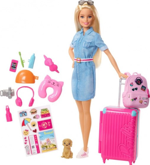 a photo of the product: Barbie tienerpop Dreamhouse Adventures op reis 30 cm