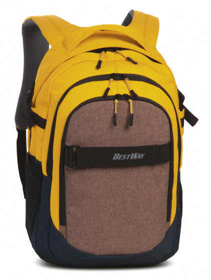 a photo of the product: Bestway rugzak Evolution Air 22 liter polyester bruin/geel