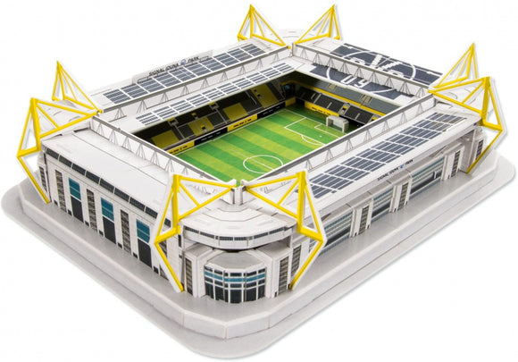 a photo of the product: BVB 3D-puzzel Borussia Dortmund 36,7 cm foam geel 76-delig