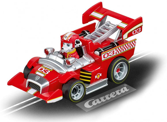 a photo of the product: Carrera racebaanauto PAW Patrol Ready Race Rescue Marshall 1:43