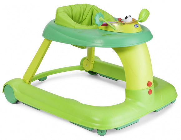 a photo of the product: Chicco loopstoel 123 Baby Walker junior 68 x 50 cm groen