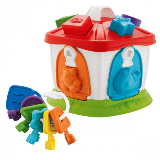 a photo of the product: Chicco vormenstoof Animal Cottage 3-in-1 junior 23 cm 16-delig