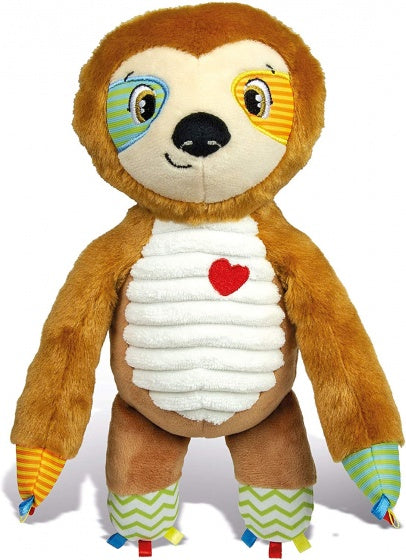 a photo of the product: Clementoni activity knuffel Luiaard 28 cm
