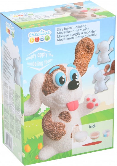 a photo of the product: Creative Kids schuimkleiset hond 5-delig