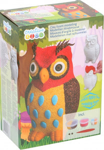a photo of the product: Creative Kids schuimkleiset uil 5-delig