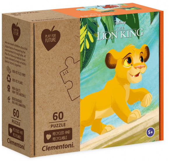 a photo of the product: Disney legpuzzel The Lion King junior karton 60 stukjes