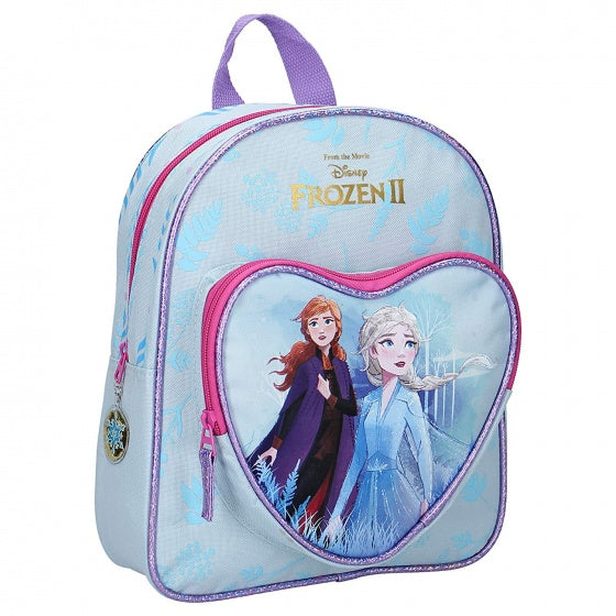a photo of the product: Disney rugzak Frozen II Find the Way 31 x 25 cm blauw