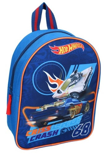 a photo of the product: Disney rugzak Hot Wheels jongens 6 L polyester blauw