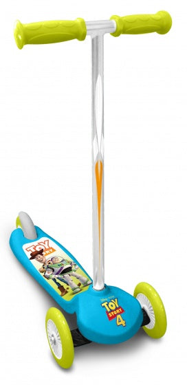 a photo of the product: Disney Toy Story 3-wiel kinderstep Junior Voetrem Lichtblauw