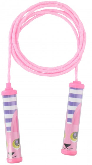 a photo of the product: Eddy toys springtouw 230 cm roze